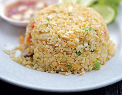 chinese takeaway egg fried rice